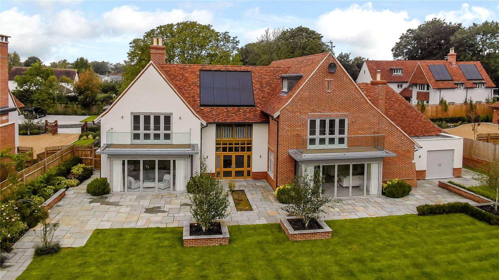 단독 가정 주택 용 매매 에 Rose Lane, Great Chesterford, Saffron Walden, Essex, CB10 Saffron Walden, 영국