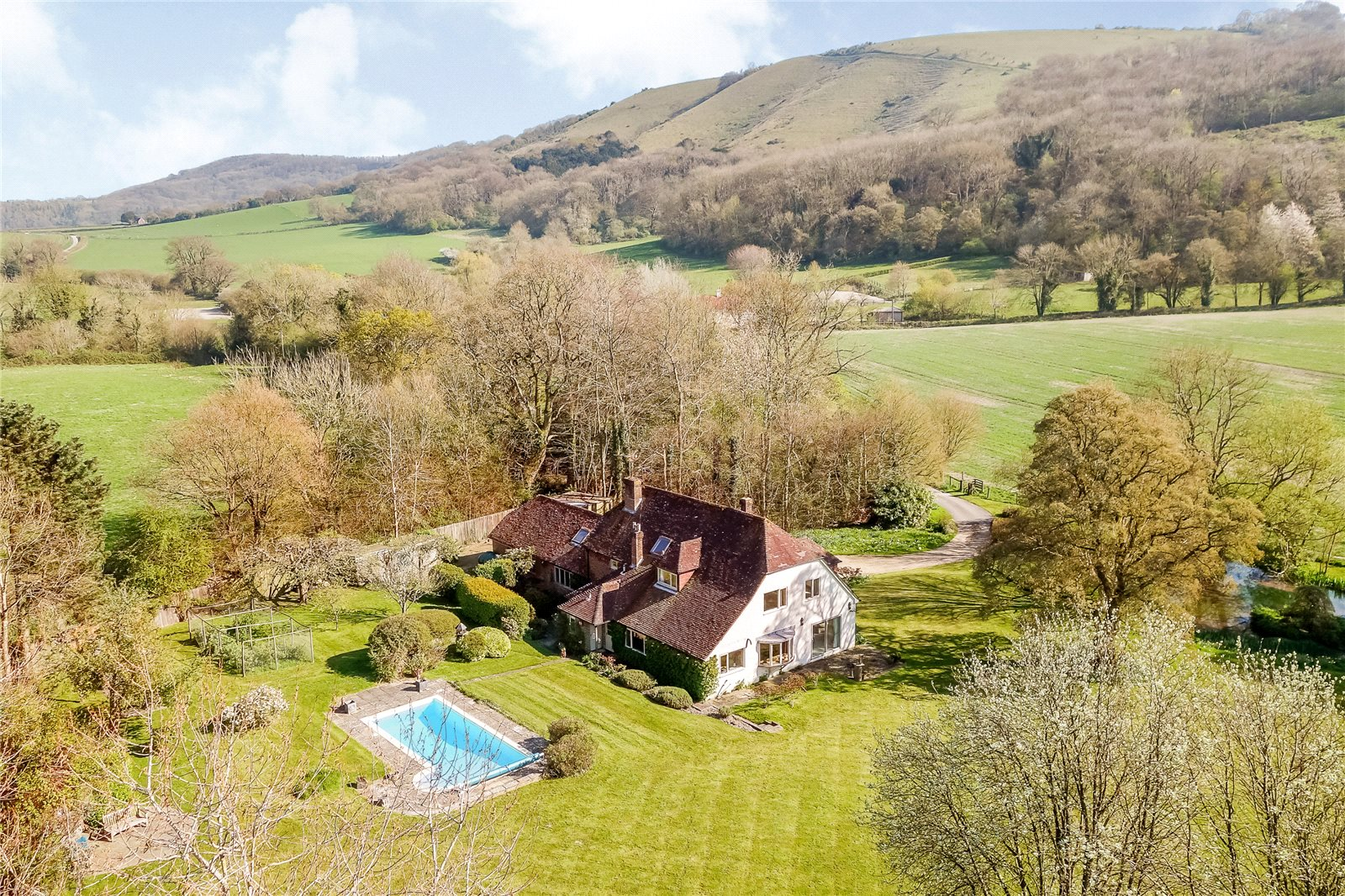 Additional photo for property listing at Treyford, Midhurst, West Sussex, GU29 Midhurst, England