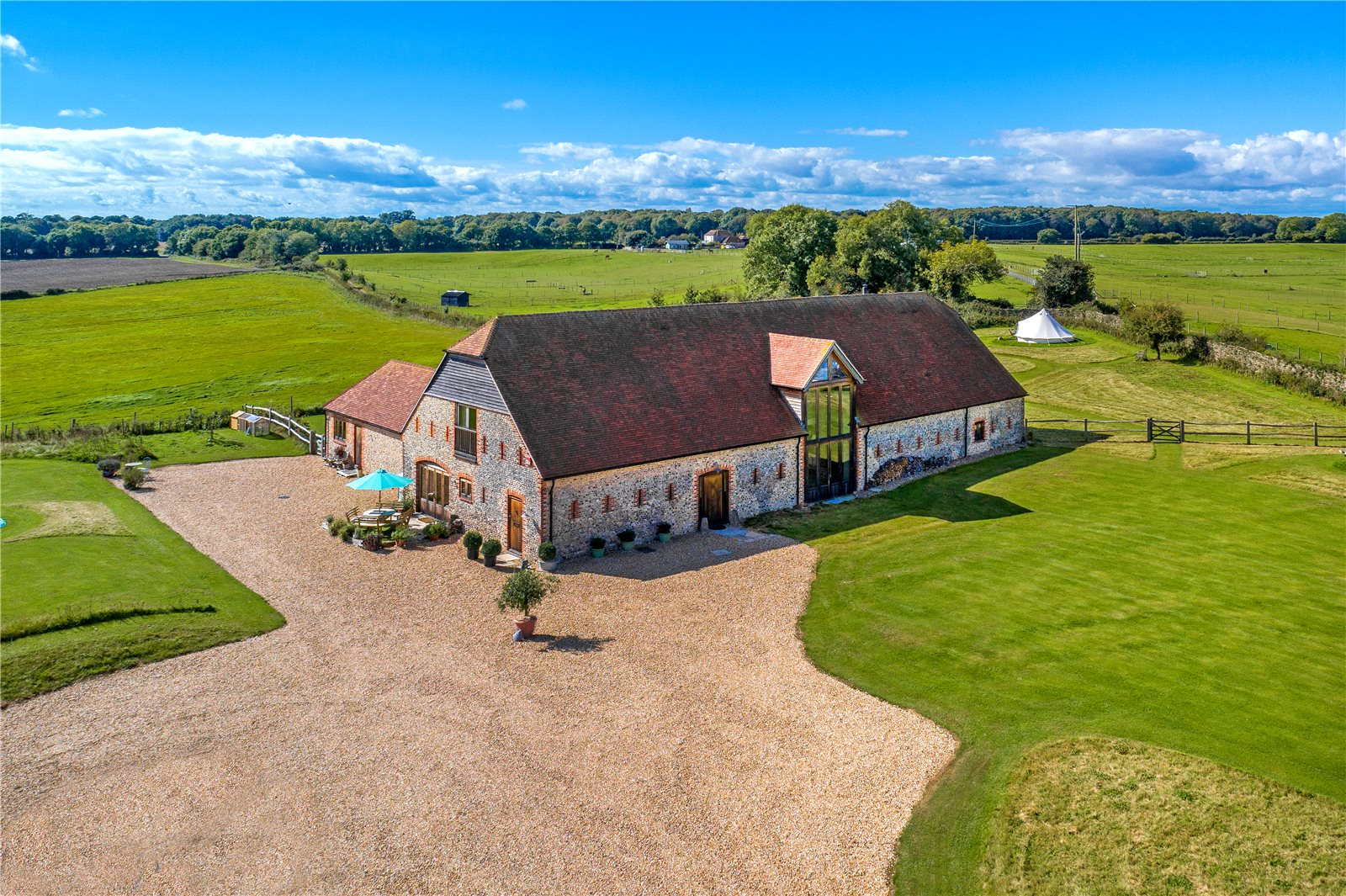 Maison unifamiliale pour l Vente à West Lavant, Chichester, West Sussex, PO18 Chichester, Angleterre