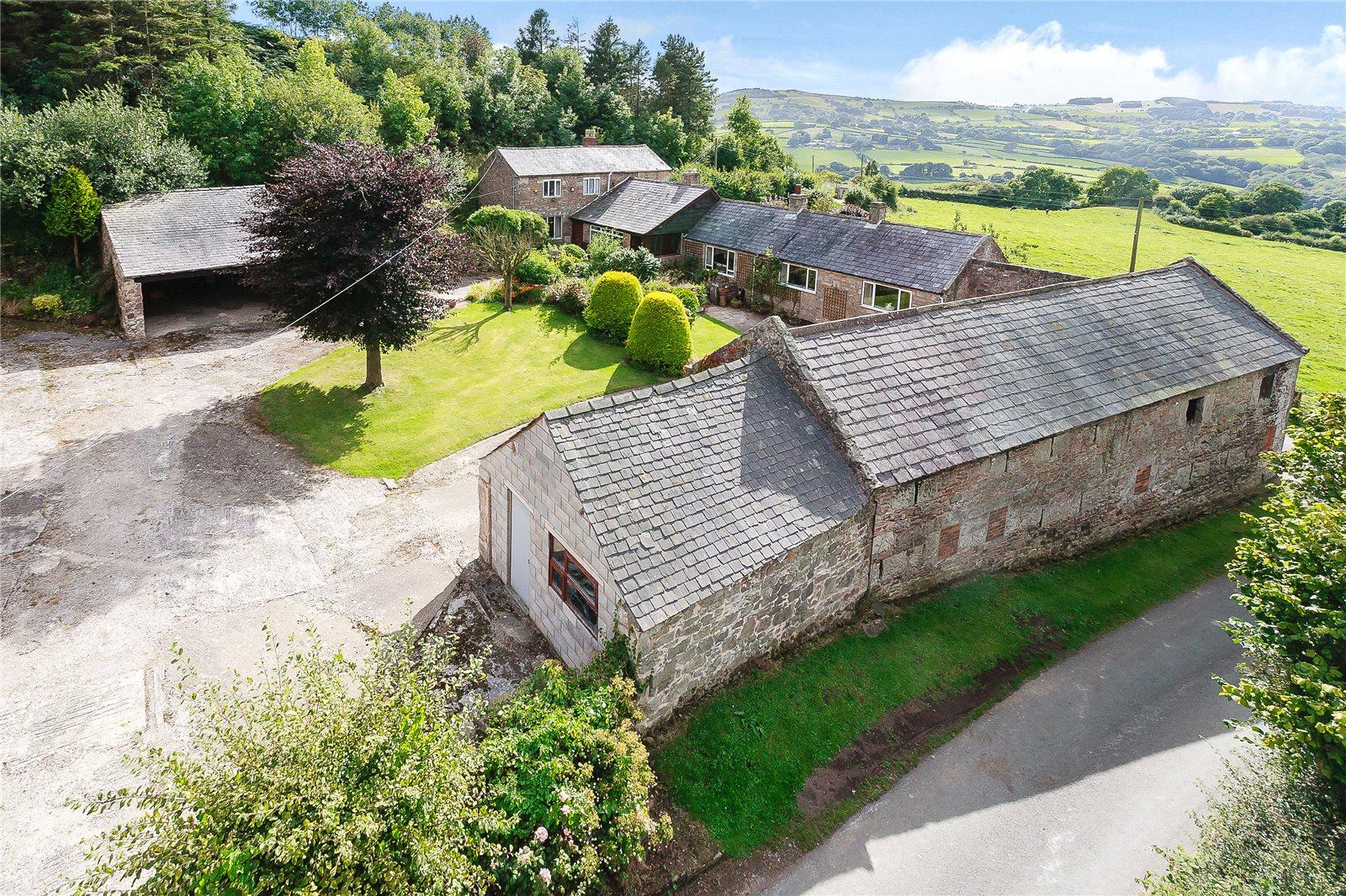 Ferme / Ranch / Plantation pour l Vente à Llanfynydd, Wrexham, LL11 Wrexham, Wales
