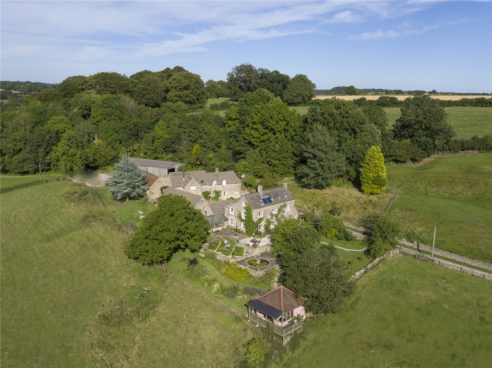 Single Family Home for Sale at Cowcombe Hill, Chalford, Stroud, Gloucestershire, GL6 Gloucestershire, England
