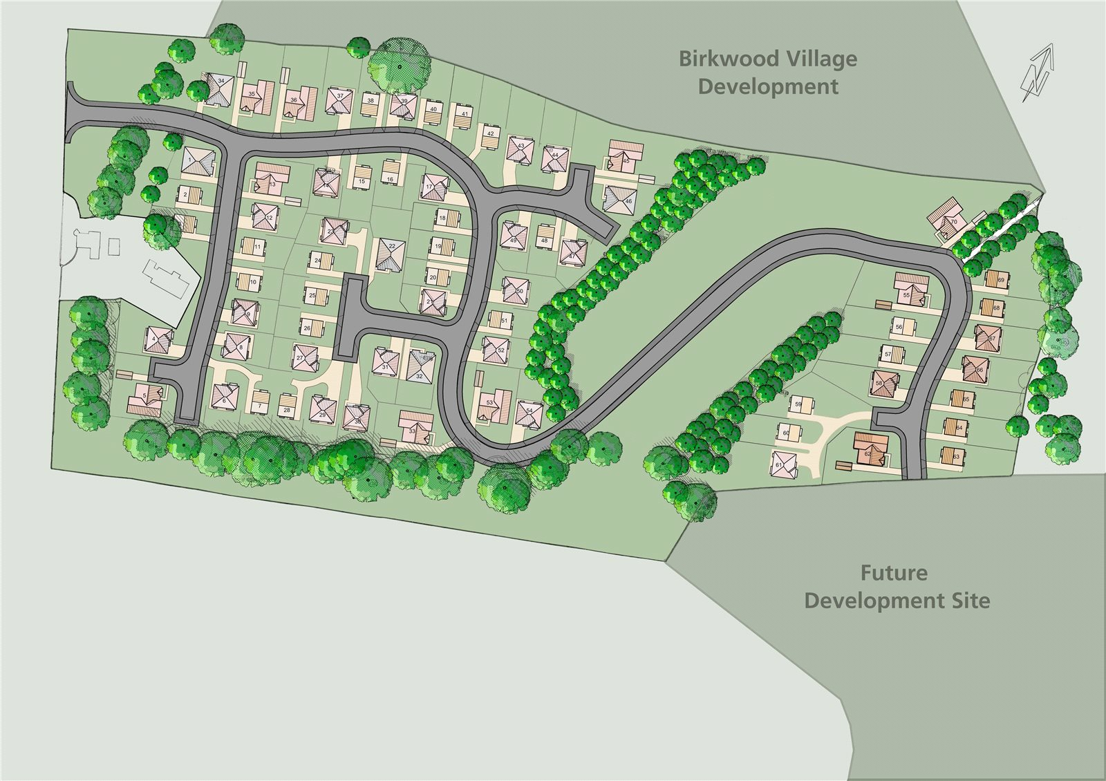 Land / Lot for Sale at Phase 5, Birkwood Estate, New Trows Road, Birkwood, ML11 Scotland