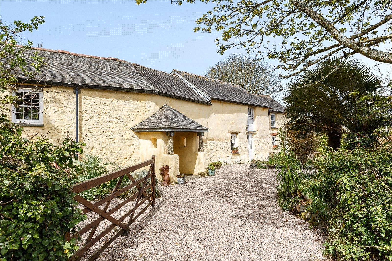 Tek Ailelik Ev için Satış at Tregarne, Manaccan, Helston, Cornwall, TR12 Helston, Ingiltere