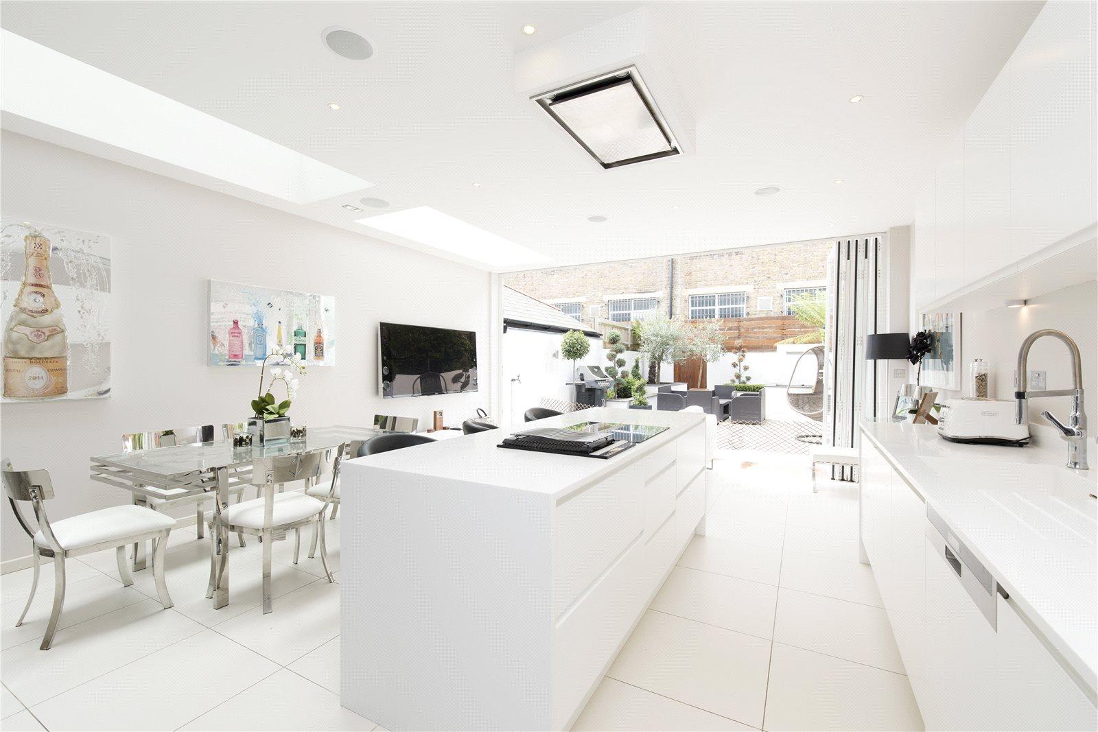 獨棟家庭住宅 為 出售 在 Parsons Green Lane, Fulham, London, SW6 Fulham, London, 英格蘭