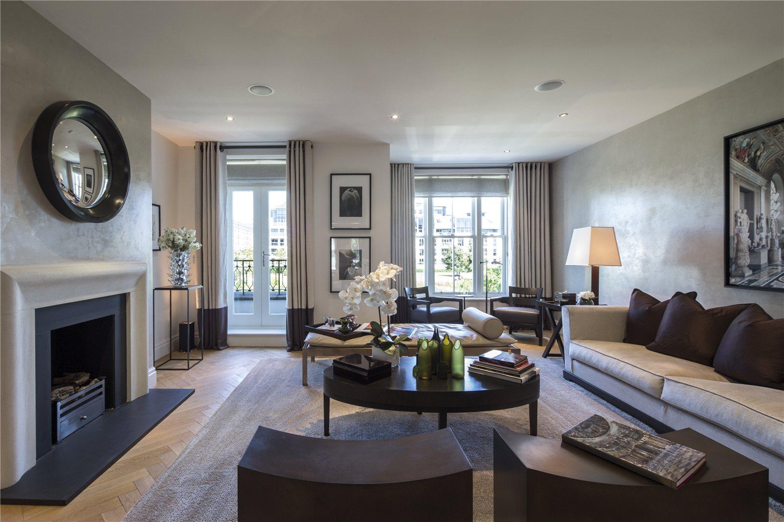 Eensgezinswoning voor Verkoop een t Imperial Crescent, Imperial Wharf, Fulham, London, SW6 Fulham, London, England