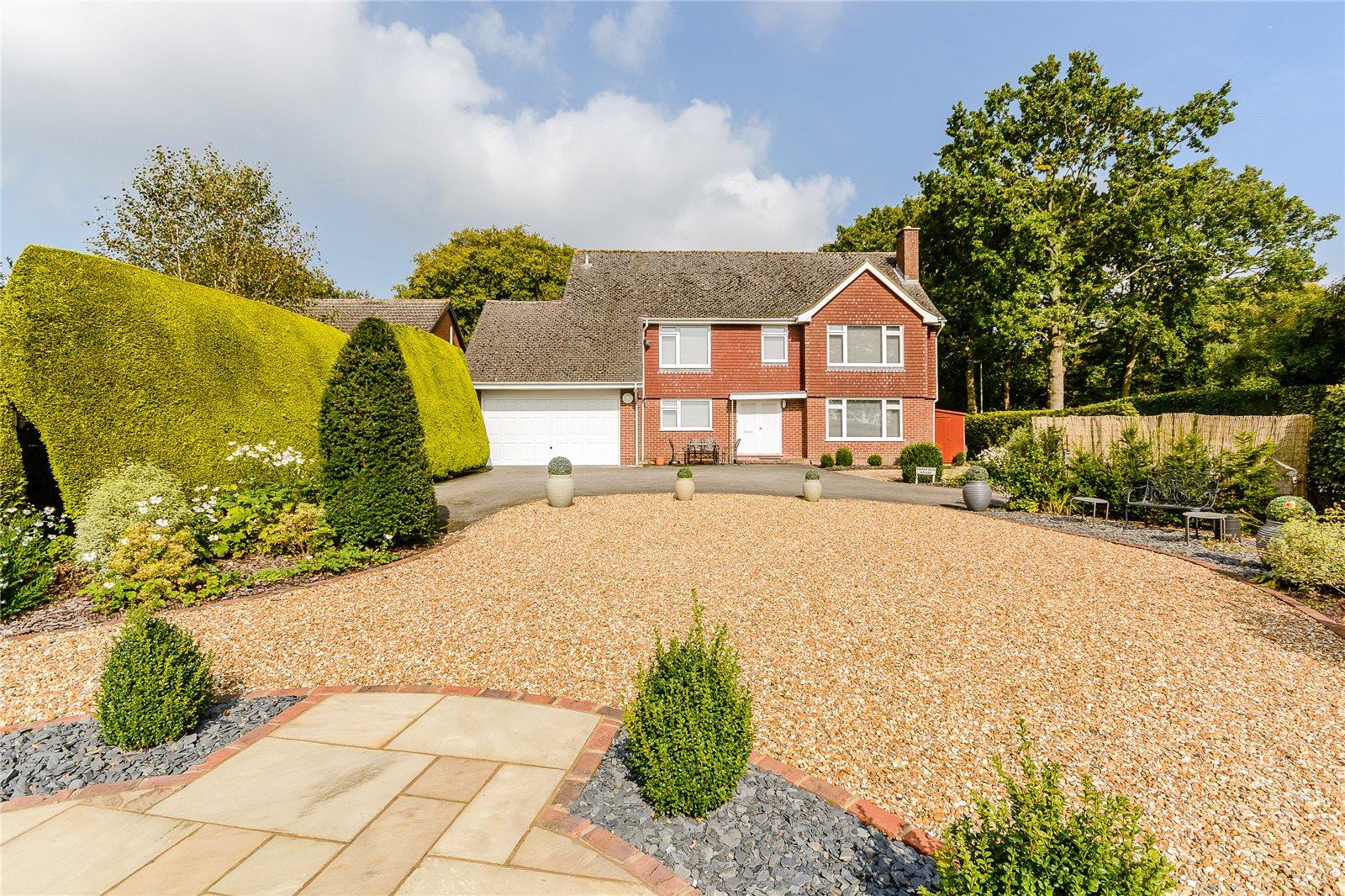 Single Family Home For Sale At Upper Old Park Lane Farnham Surrey GU9