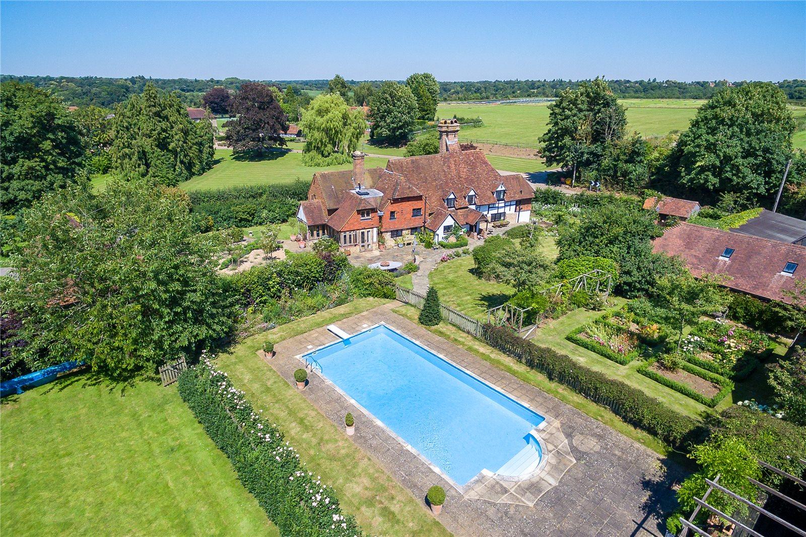 Maison unifamiliale pour l Vente à Eashing Lane, Godalming, Surrey, GU7 Godalming, Angleterre