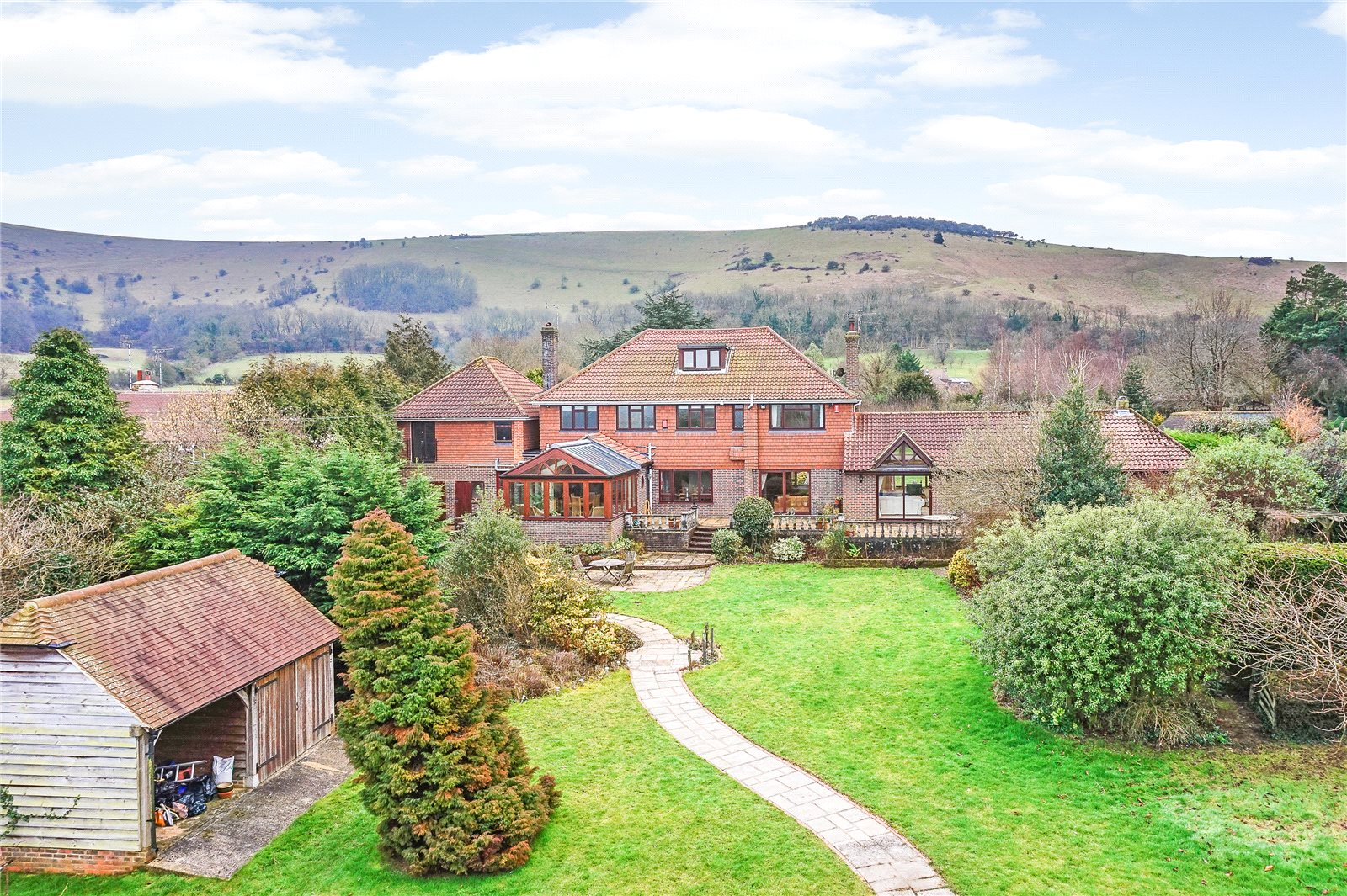 Maison unifamiliale pour l Vente à Poynings Road, Fulking, Henfield, West Sussex, BN5 Henfield, Angleterre