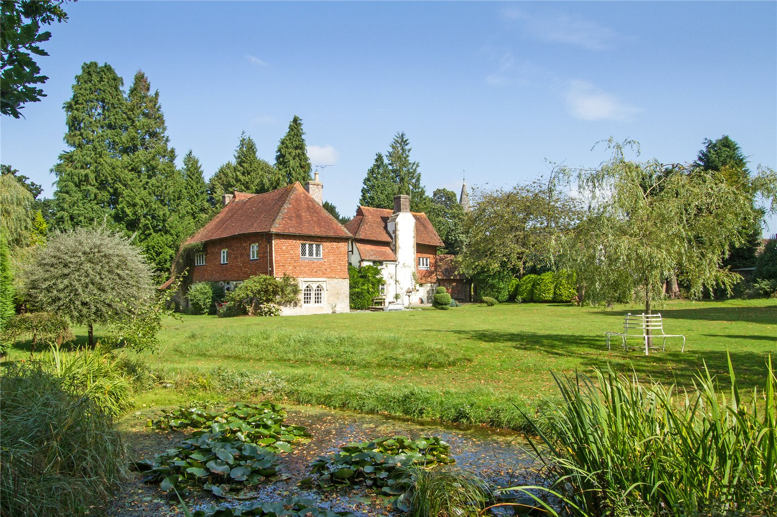 Single Family Home For Sale At Church Road Bramshott Liphook Hampshire GU30