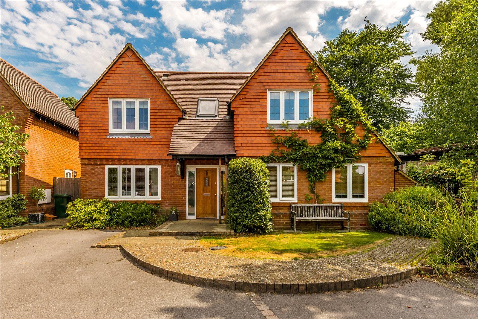 独户住宅 为 销售 在 Vann Road, Fernhurst, Haslemere, Surrey, GU27 Haslemere, 英格兰