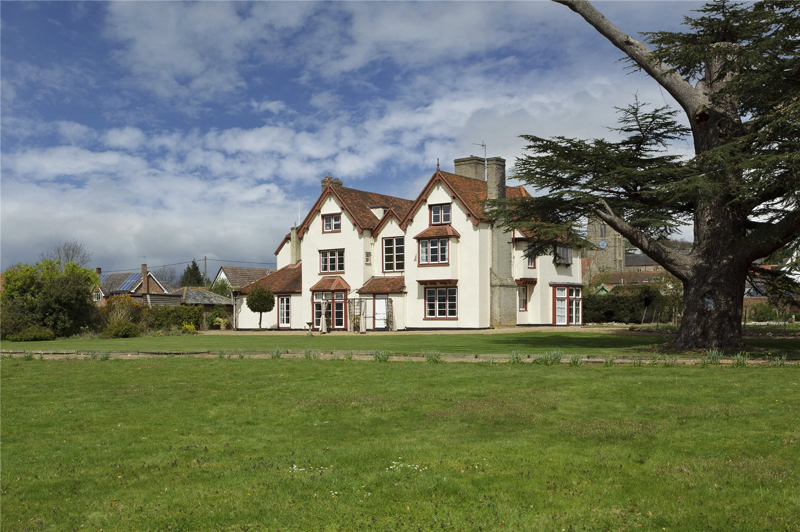 Single Family Home for Sale at The Folly, Haughley, Stowmarket, Suffolk, IP14 Stowmarket, England