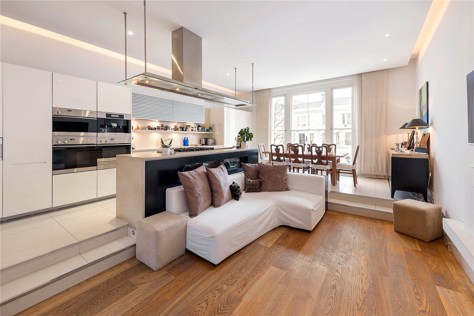 Daireler için Satış at Palace Gardens Terrace, Kensington, London, W8 Kensington, London, Ingiltere
