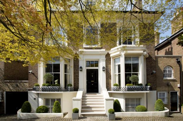 Single Family Home for Sale at Holland Villas Road, Holland Park, London, W14 Holland Park, London, England