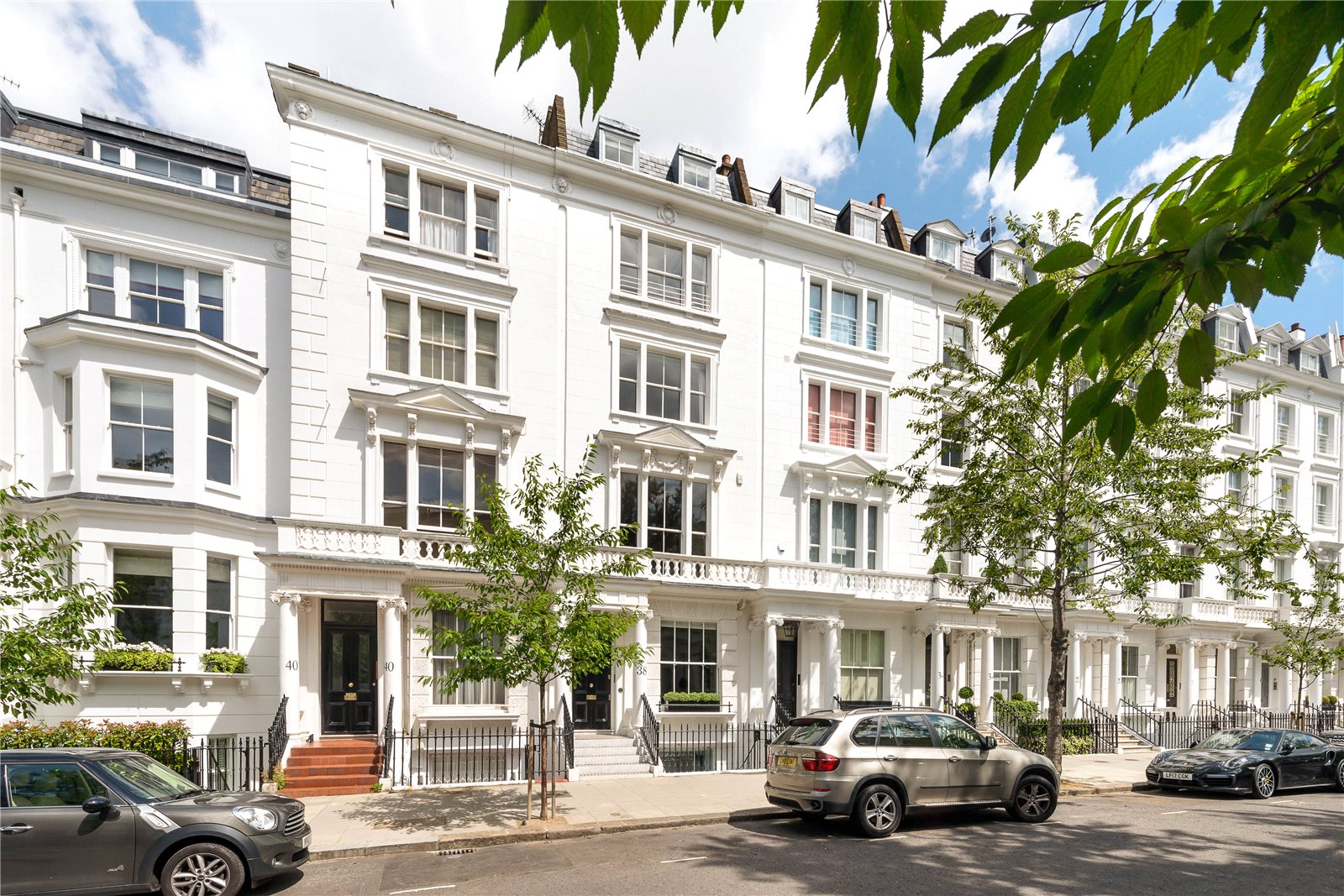 獨棟家庭住宅 為 出售 在 Palace Gardens Terrace, Kensington, London, W8 Kensington, London, 英格蘭