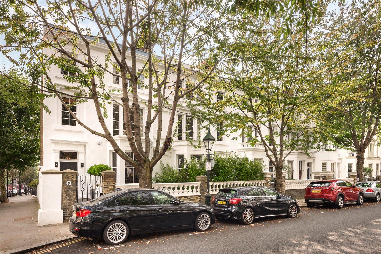 Vivienda unifamiliar por un Venta en Vicarage Gardens, Kensington, London, W8 Kensington, London, Inglaterra