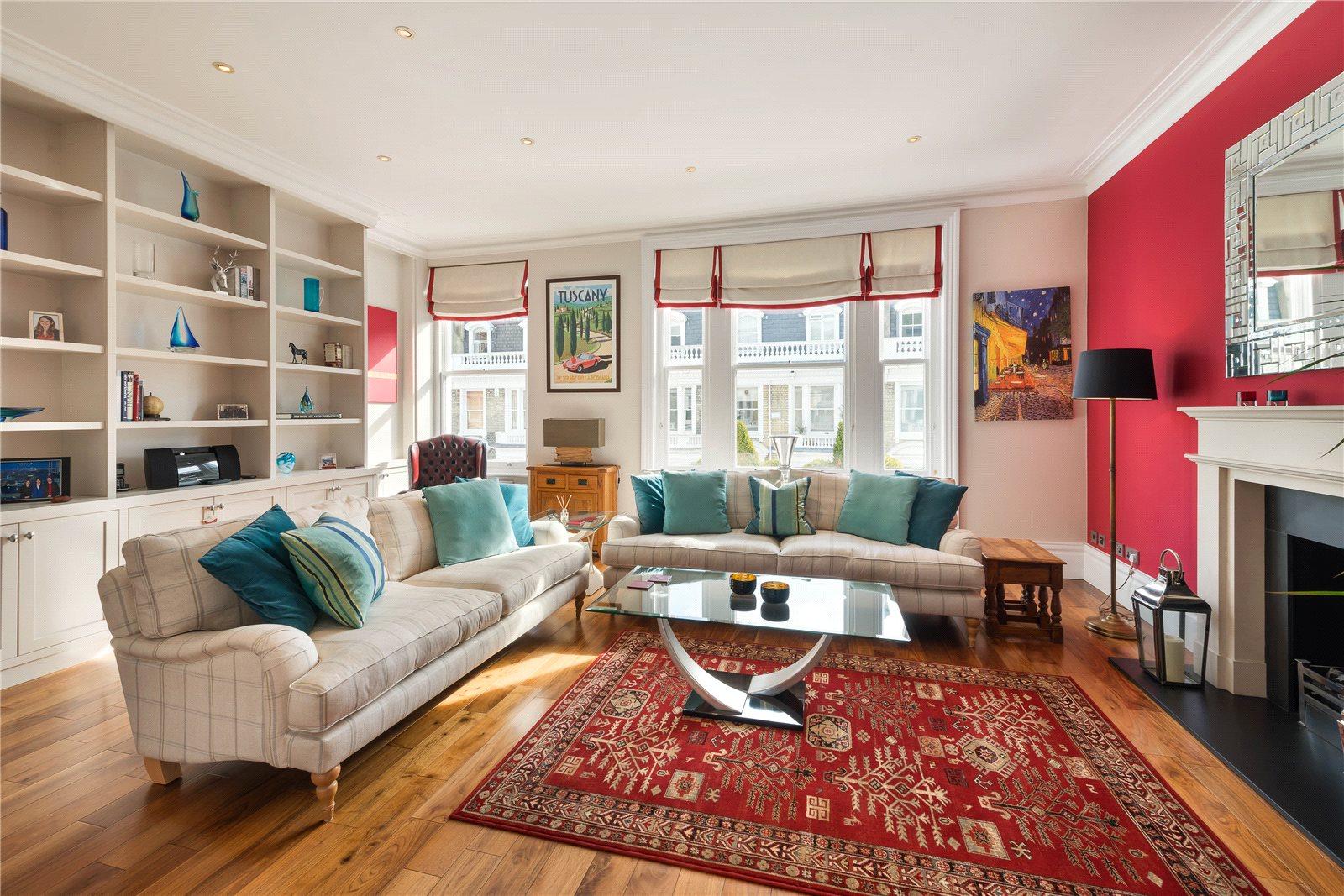Daireler için Satış at Stafford Terrace, Kensington, London, W8 Kensington, London, Ingiltere