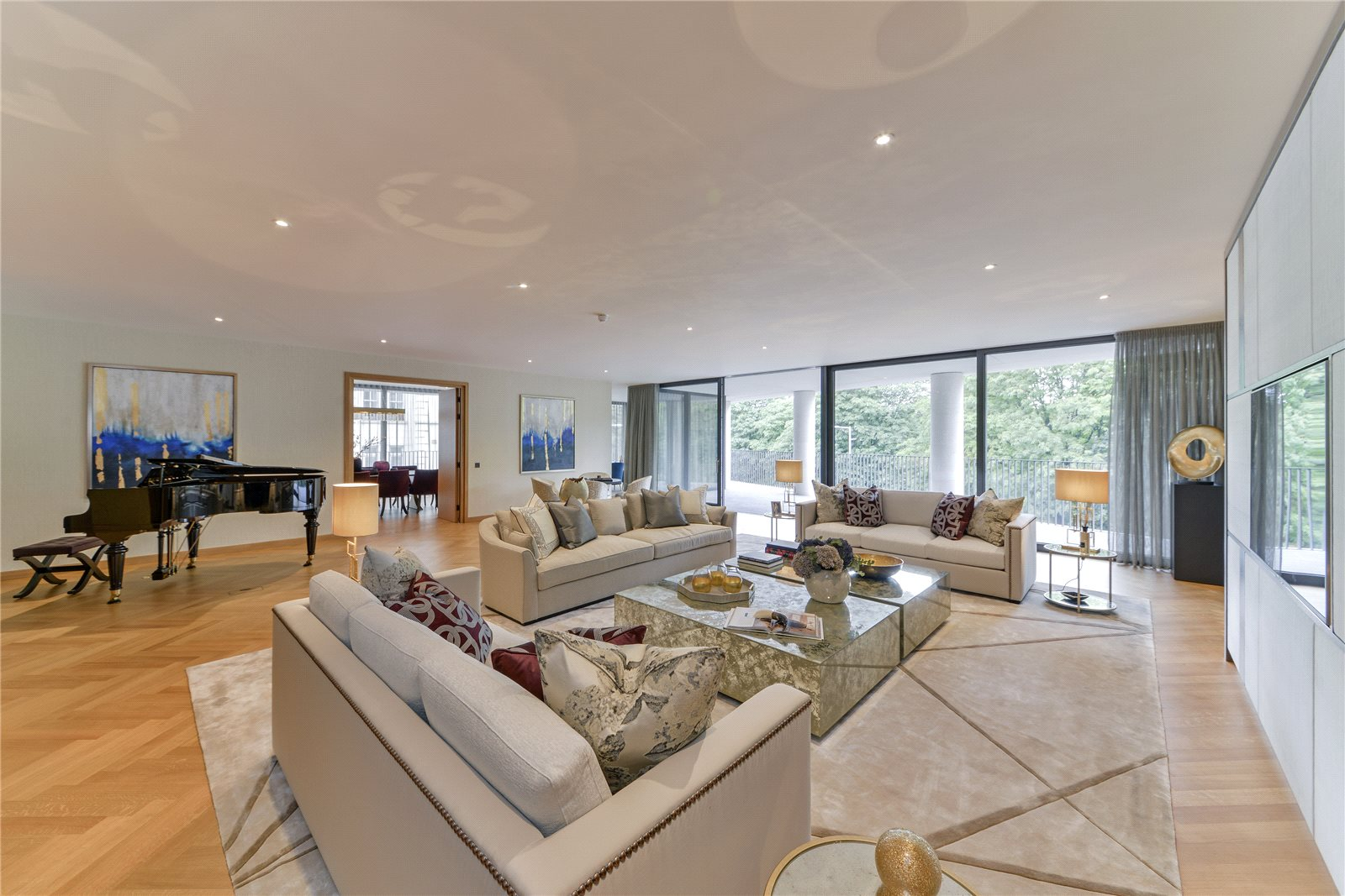 One kensington gardens 8 kensington road london w8 a for Luxury homes in london