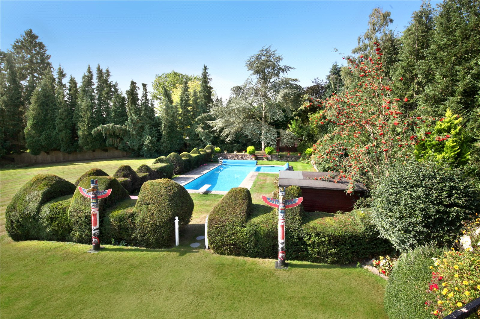 Vivienda unifamiliar por un Venta en West Drive, Wentworth, Virginia Water, Surrey, GU25 Virginia Water, Inglaterra