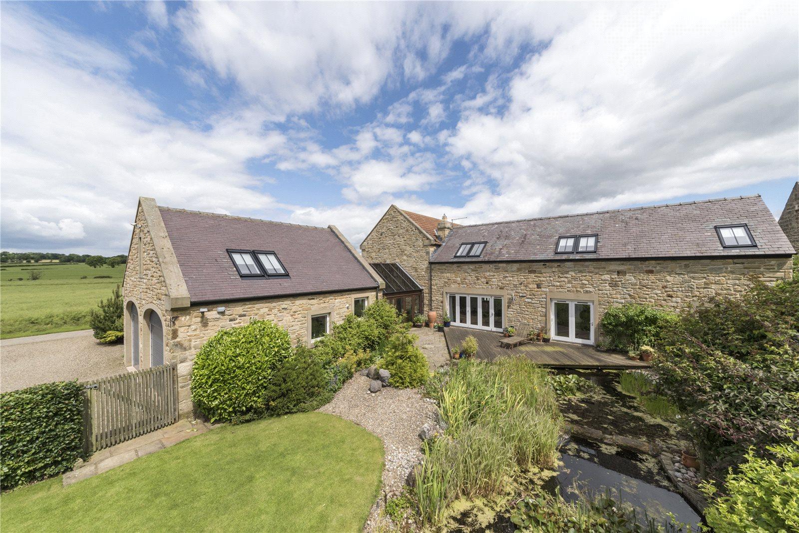 Частный дом для того Продажа на Whalton, Morpeth, Northumberland, NE61 Morpeth, Англия