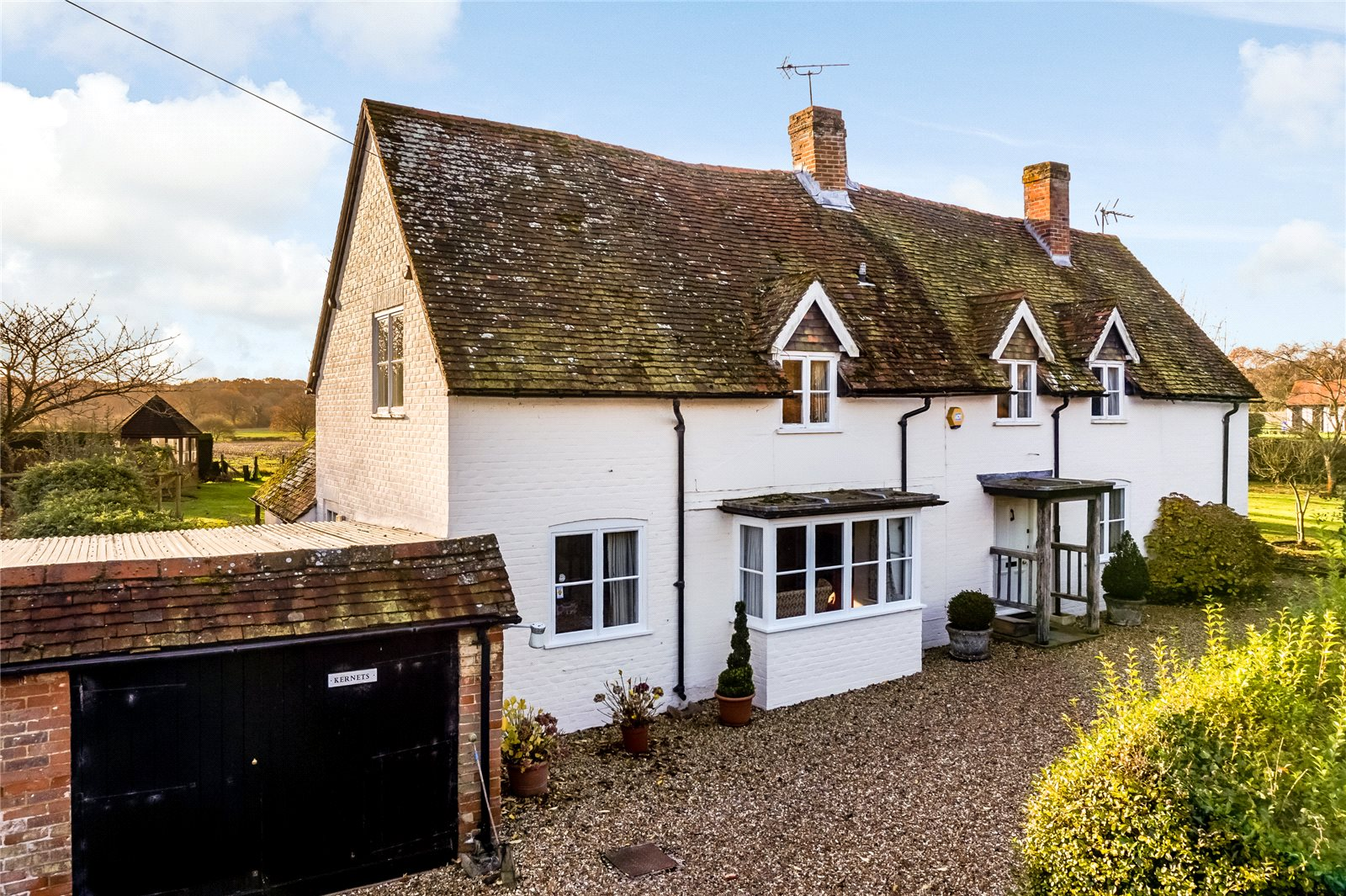 Single Family Home for Sale at The Street, Rotherwick, Hook, Hampshire, RG27 Hook, England