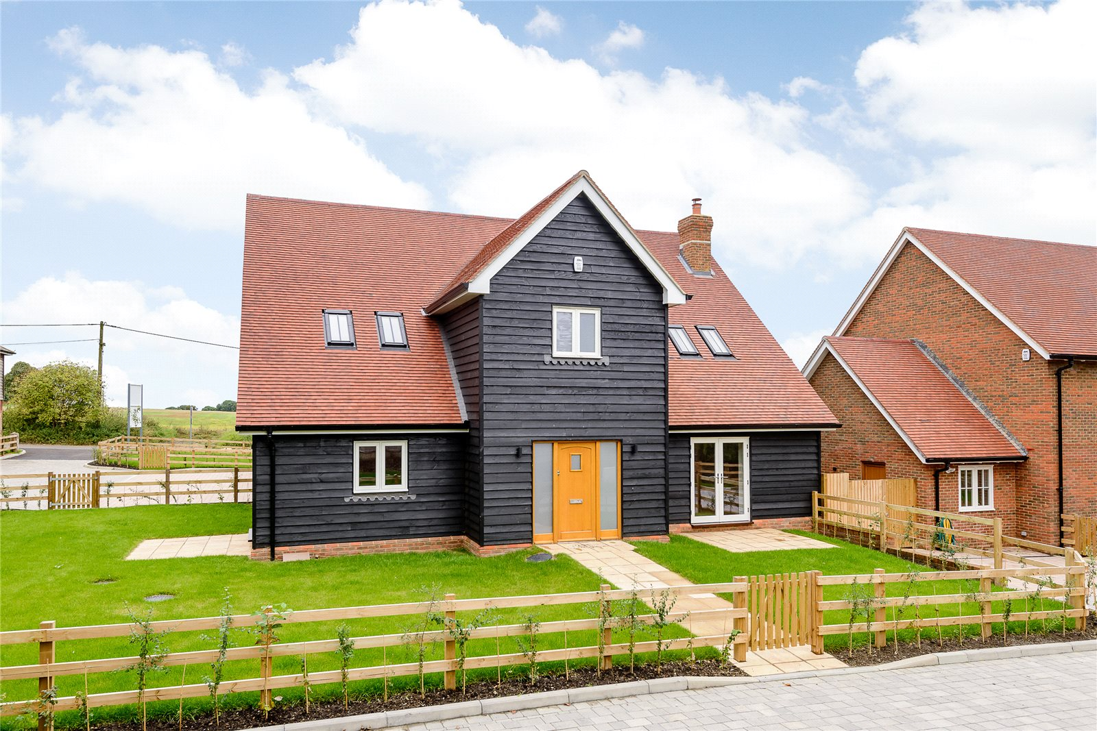 Maison unifamiliale pour l Vente à Wood Hill Lane, Long Sutton, Hook, Hampshire, RG29 Hook, Angleterre