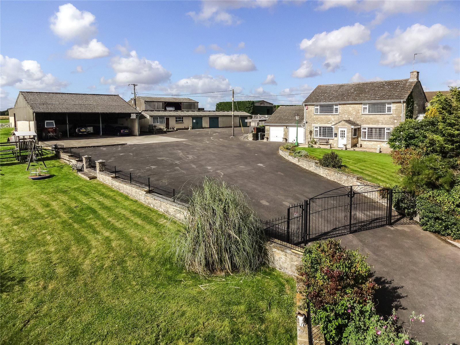 Ферма / Ранчо / Плантация для того Продажа на Oxford Road, Witney, Oxfordshire, OX29 Witney, Англия