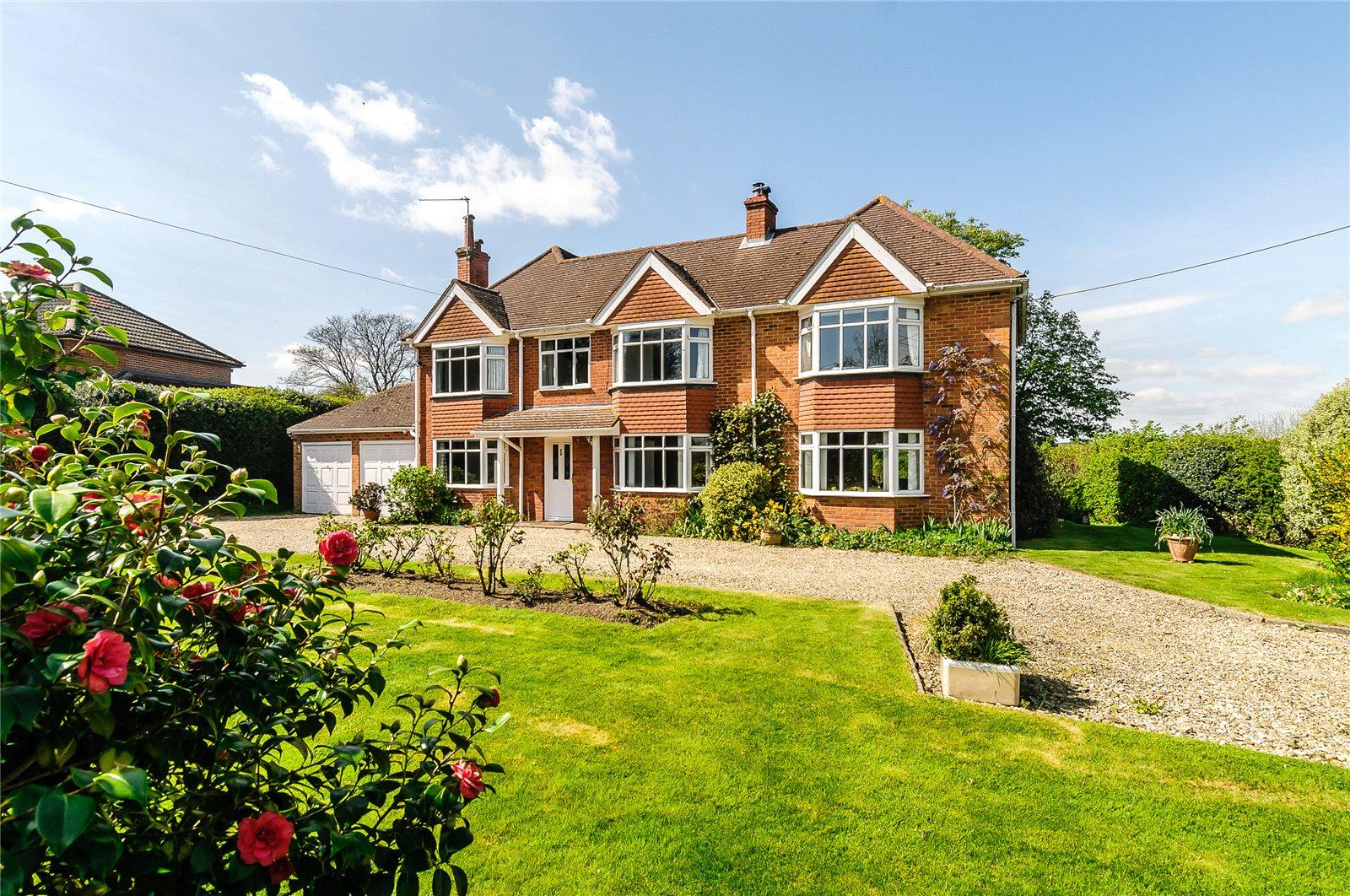 Einfamilienhaus für Verkauf beim Hopgoods Green, Bucklebury, Reading, RG7 Reading, England