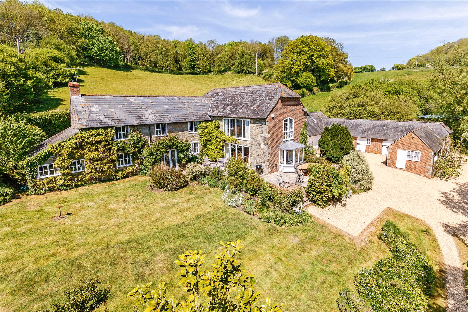 Single Family Home for Sale at Compton Abbas, Shaftesbury, Dorset, SP7 Shaftesbury, England