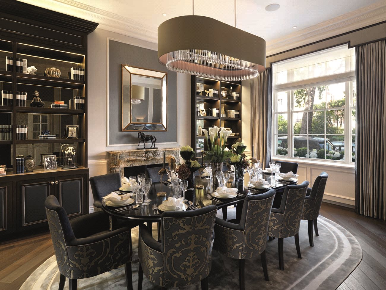 Chester square belgravia london sw1w a luxury home for for Luxury real estate london