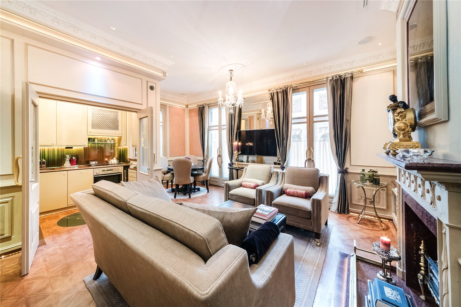 Additional photo for property listing at Thurloe Place, South Kensington, SW7 South Kensington, Англия
