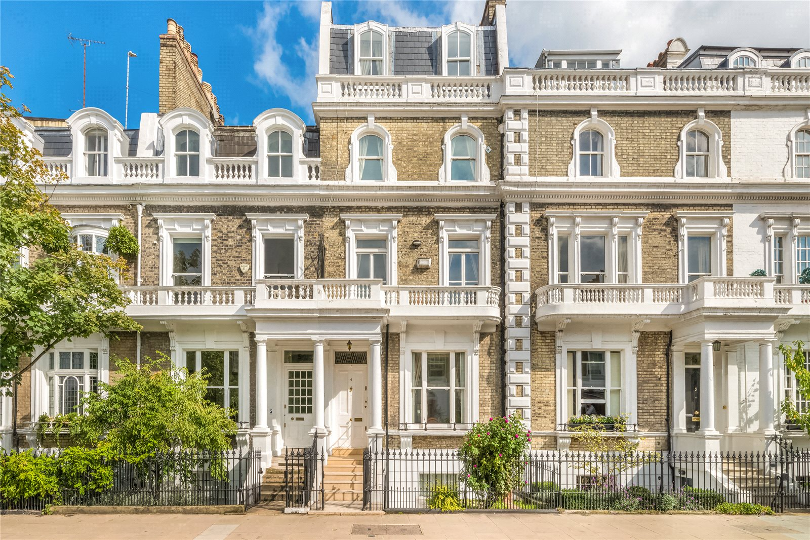 Частный дом для того Продажа на Neville Terrace, South Kensington, London, SW7 South Kensington, London, Англия
