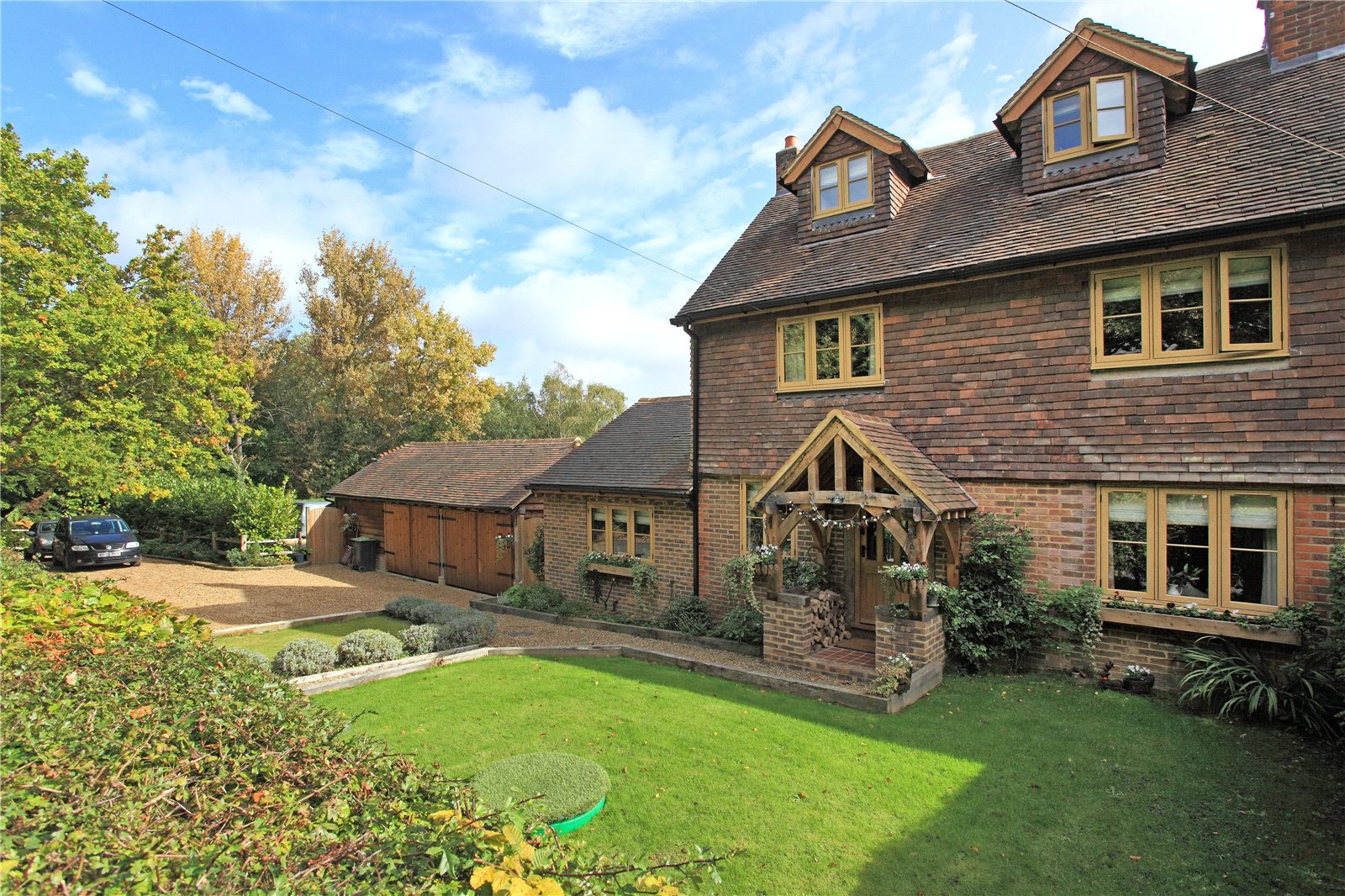 Частный дом для того Продажа на New Cottages, Puttenden Road, Shipbourne, Tonbridge, TN11 Tonbridge, Англия