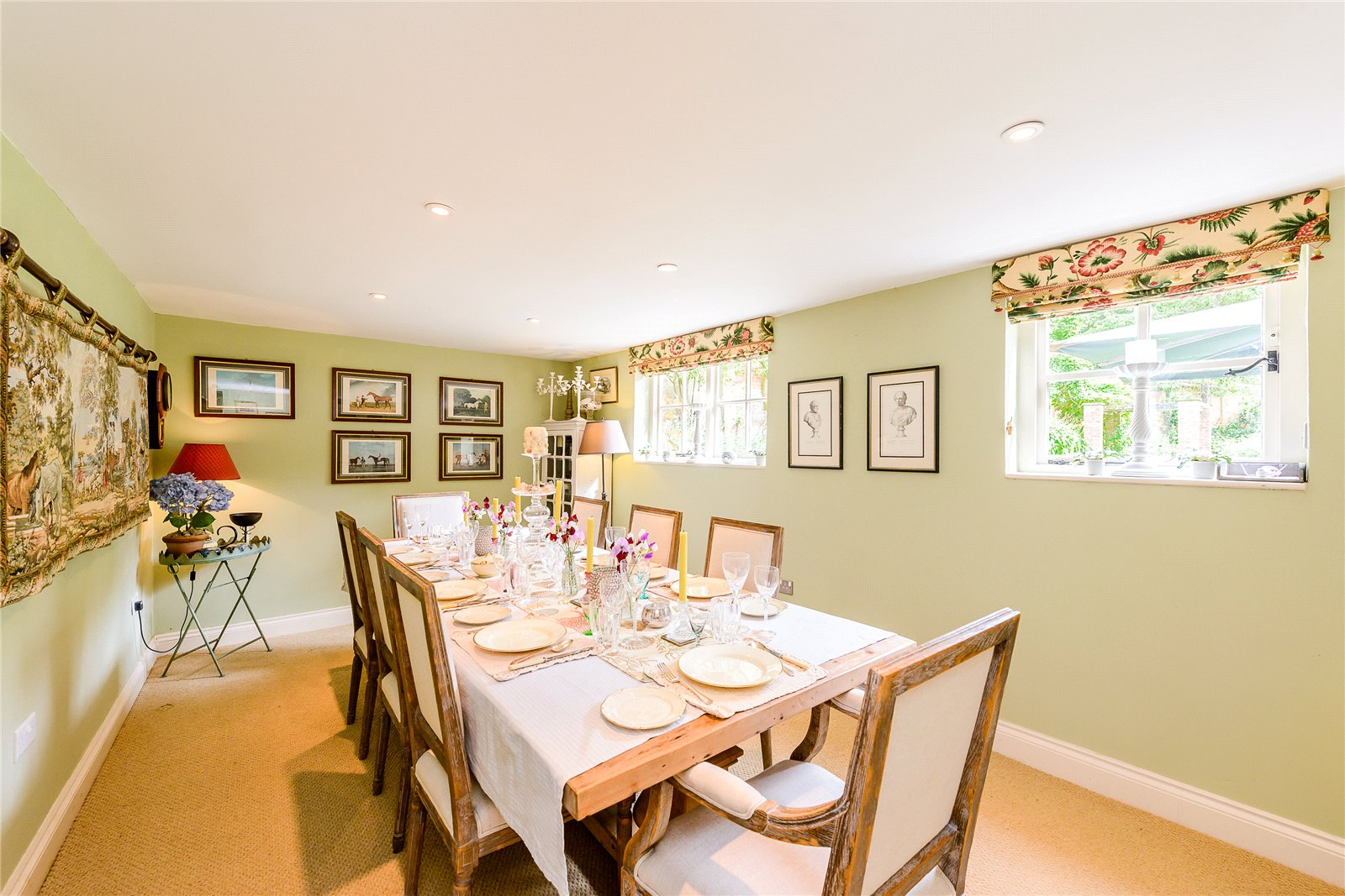 Additional photo for property listing at Chilbolton, Stockbridge, Hampshire, SO20 Stockbridge, Inghilterra